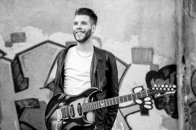 guitar player, cover band, antonio rozmaric