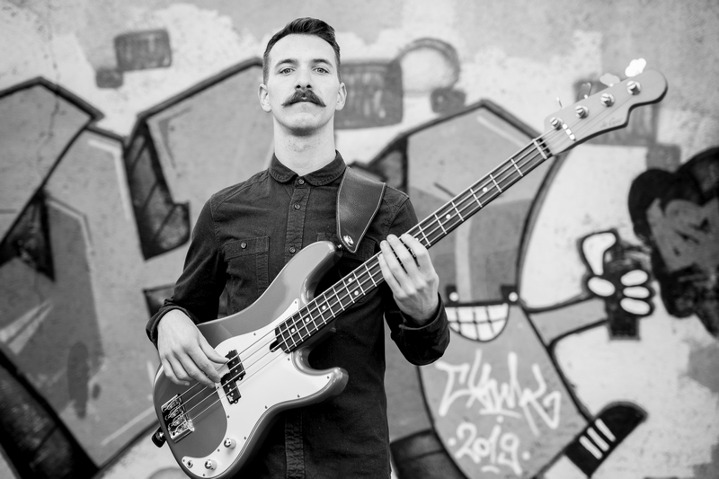 bass player, cover band, luka gasparic