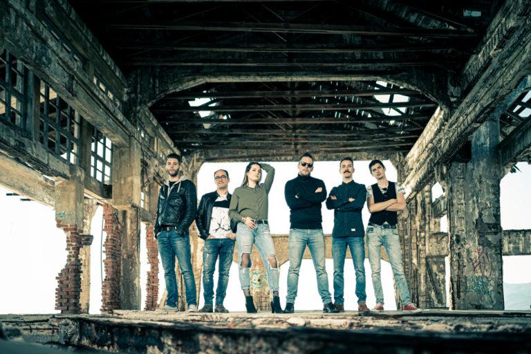 band, posing, band photography